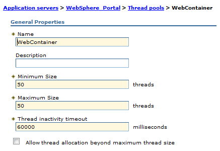Performance testing - IBM WebSphere Portal v8